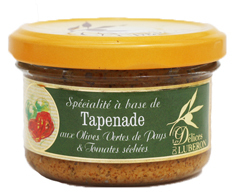 Tapenade Oliven & Tomate | Les Délices du Luberon | 90g ohne Konservierungsstoffe