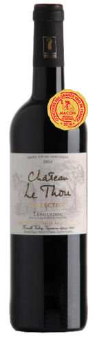 Château le Thou Collection Rouge 2015 AOP Languedoc 0,75l Fl.