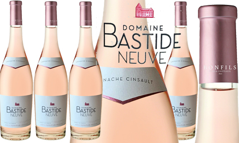Domaine Bastide Neuve Rosé 2018 - Neuheit, auch als Magnum erhältlich