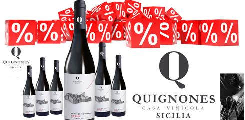 Castel San Giacomo Rosso 2019 IGP Casa Vinicola Quignones 11% sparen! Neue Ausstattung