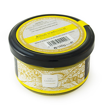 Aioli (Allioli) Traditional Artesan Casa Carriot 140g