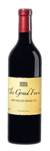Château Tour Grand Faurie St. Emilion Bordeaux Grand Cru 2014 Clos Grand Faurie, 0,75l Fl.