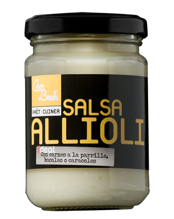 Aioli (Allioli) Traditional Salsa Can Bech 135g